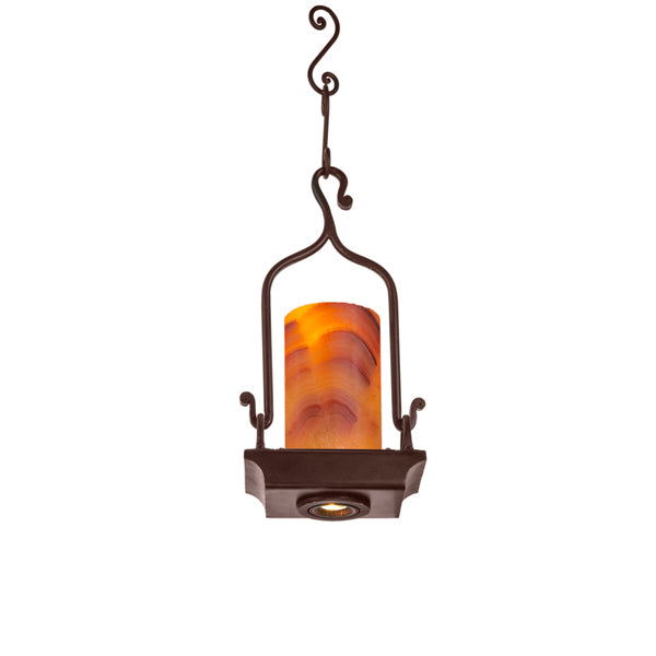 Alma Pendant One Light with LED Down Light