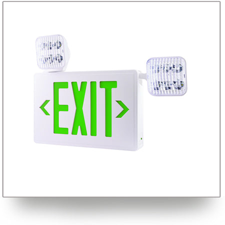 LED Combo Exit and Emergency