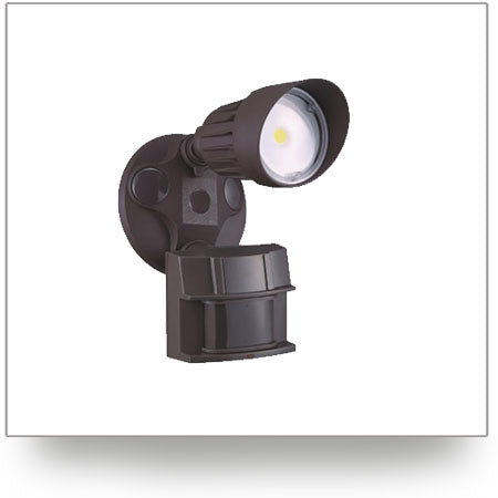 Single Head LED Security Light with Motion Sensor