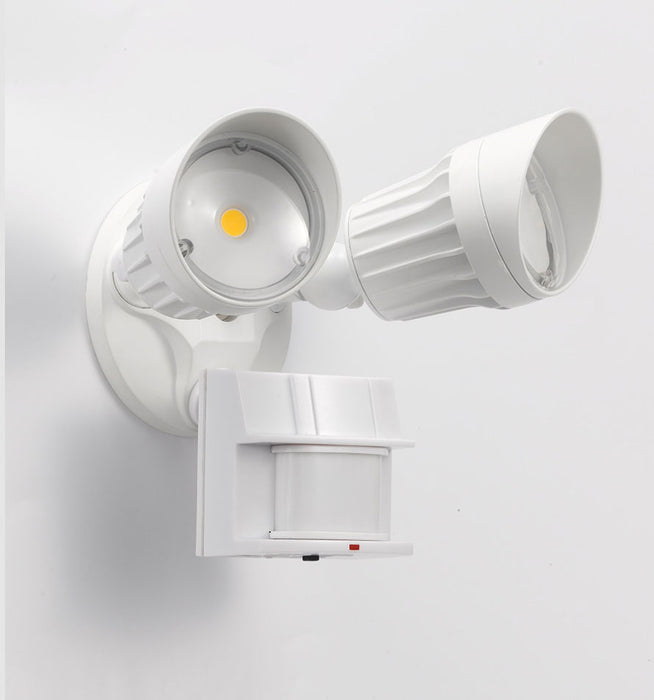 Dual Head LED Security Light with Motion Sensor