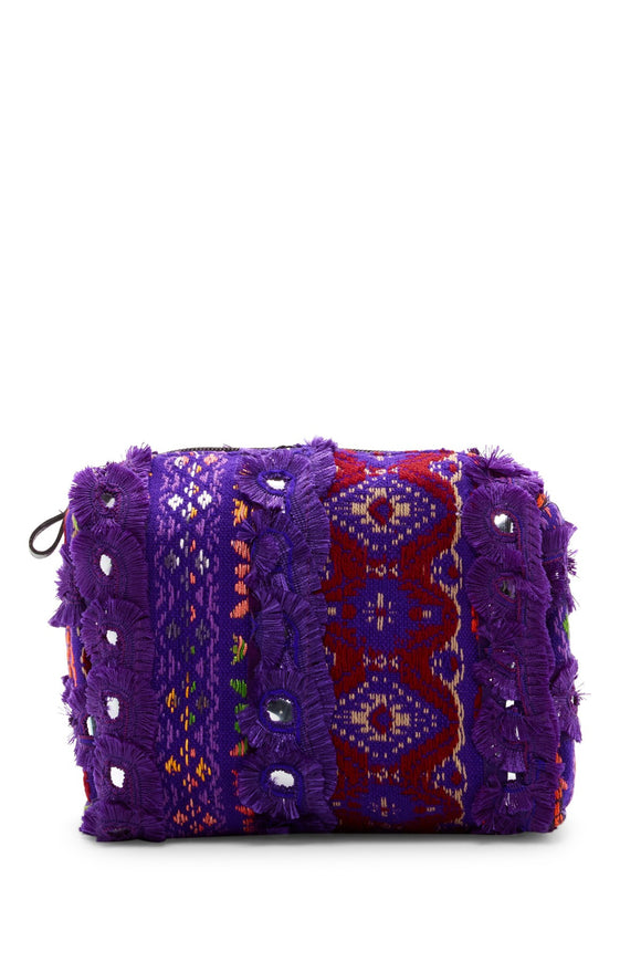 Raj Bag Frayed Mirror - Rajimports - Women's Clothing