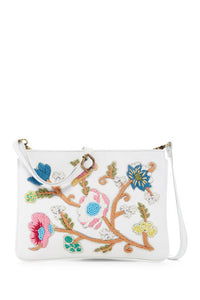Raj Embroidered Lizzy Messenger