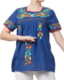 Raj Machine Embroidered Top - Raj Imports