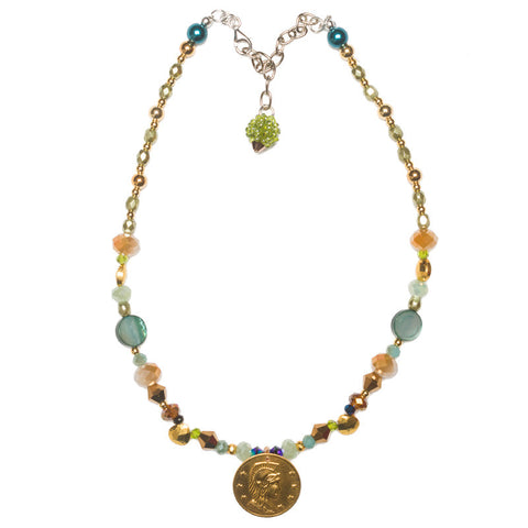 GEMMIES Coin Necklace
