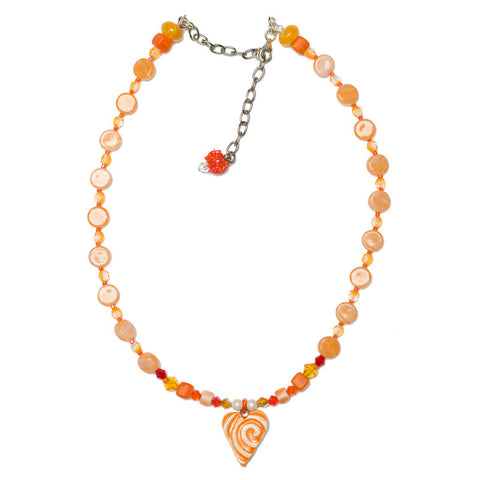 GEMMIES Creamsicle Necklace