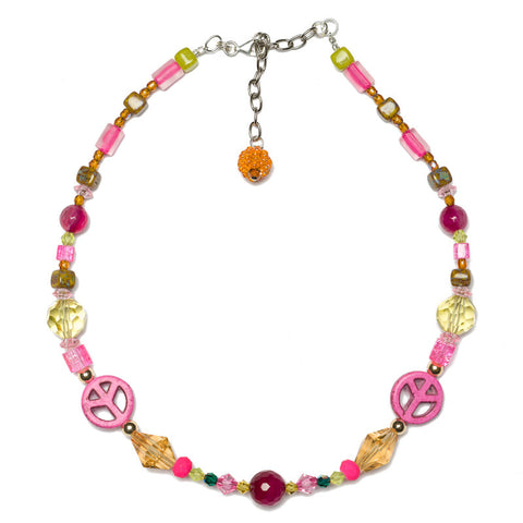 GEMMIES Paix Necklace