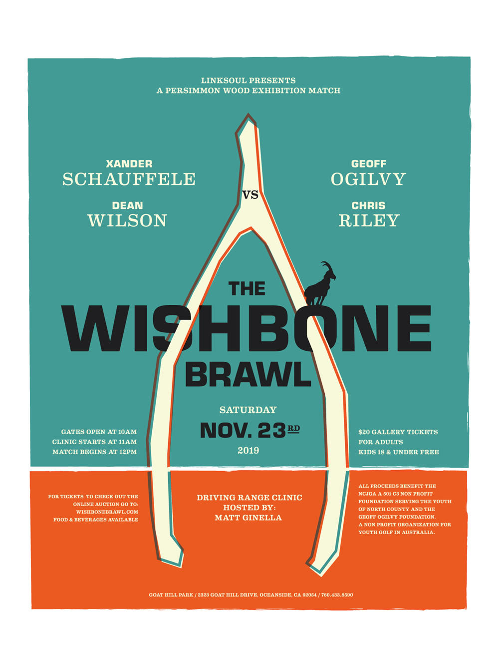 Wishbone Brawl 2019 Poster