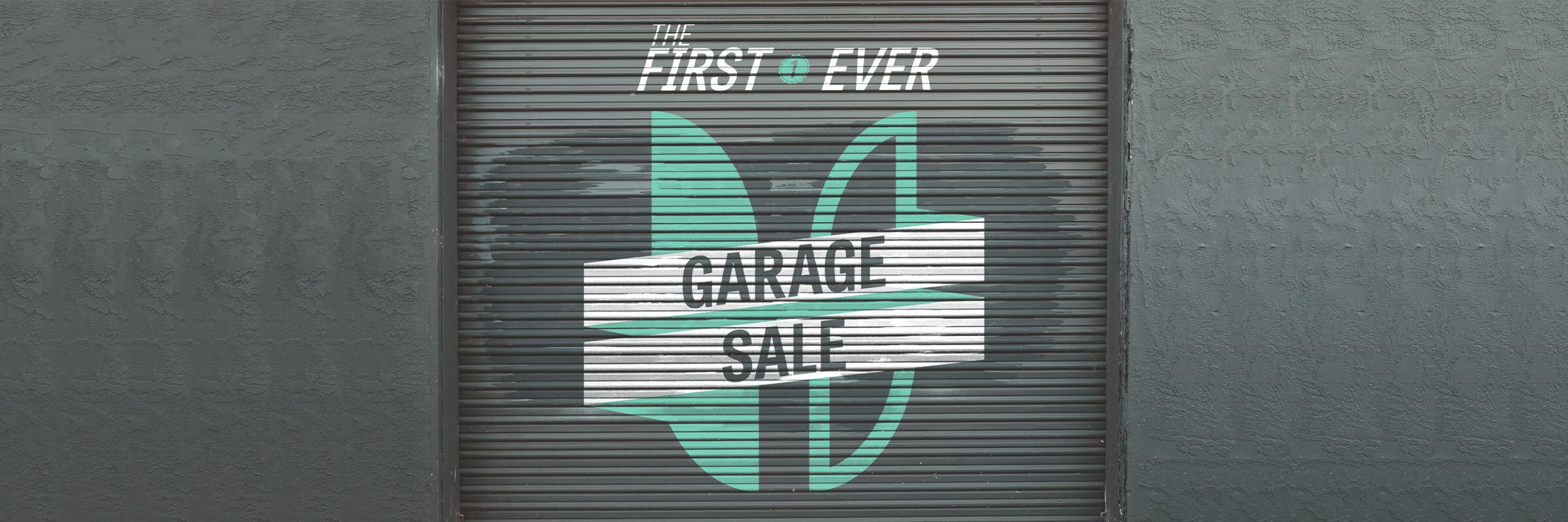 OUR FIRST EVER GARAGE SALE