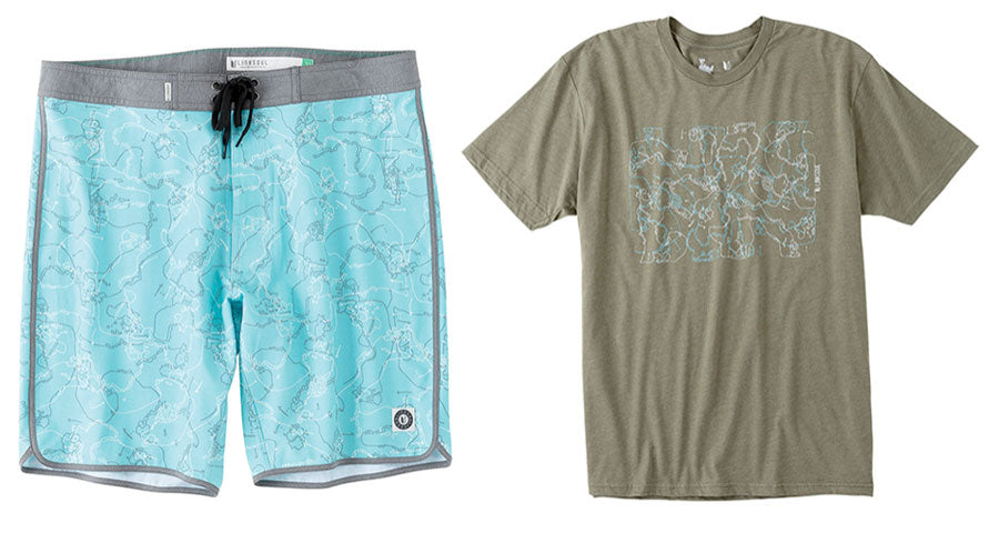 Architect boardshort and t-shirt.