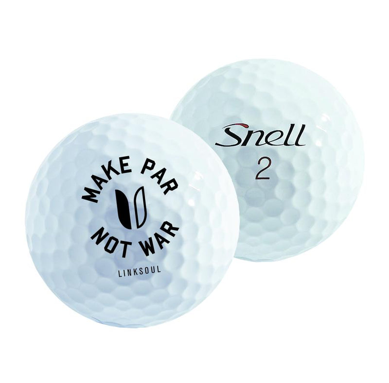 1 Sleeve Snell X Linksoul Golf Balls image