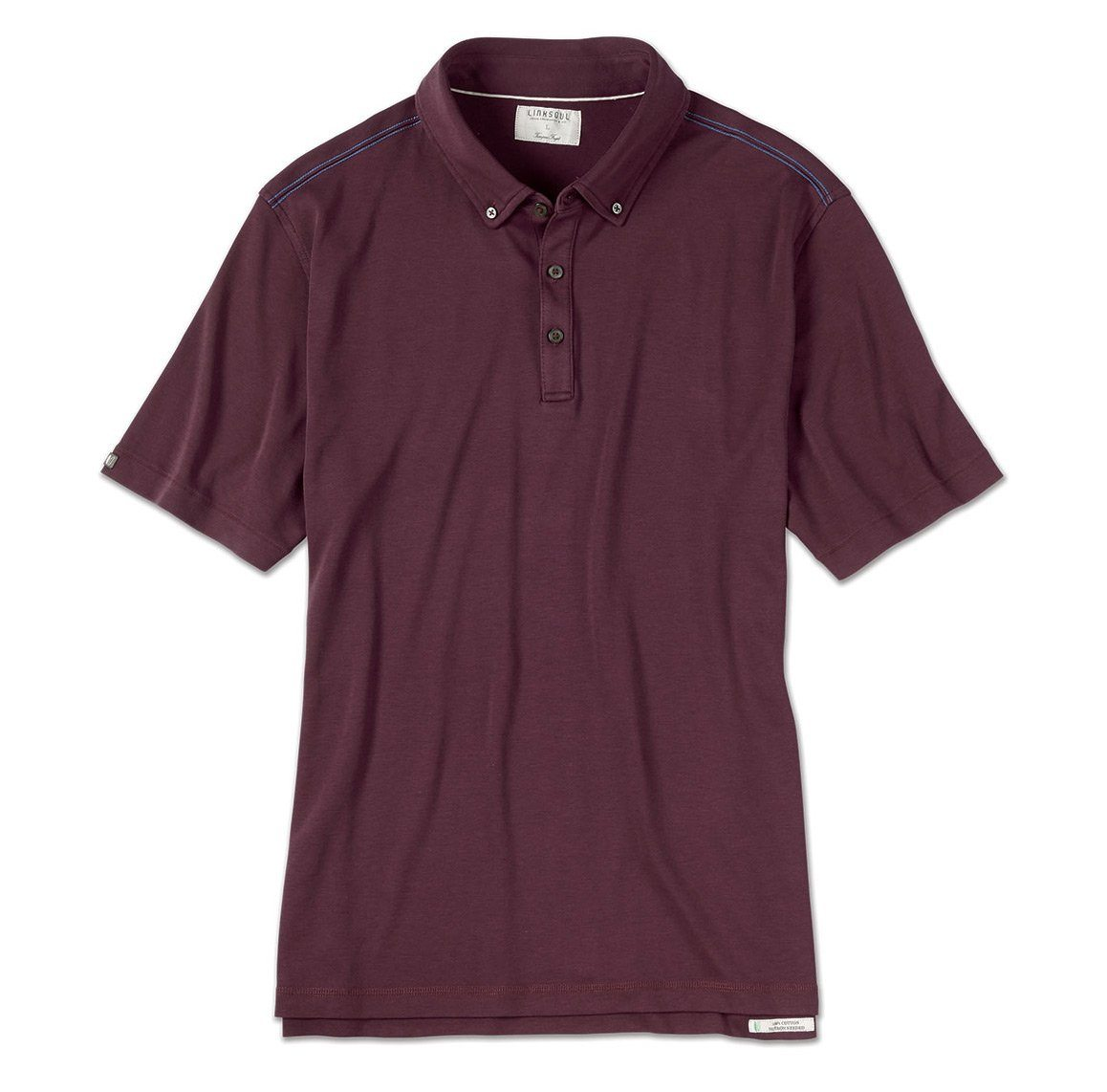 Stanford Short Sleeve Button-Down Polo