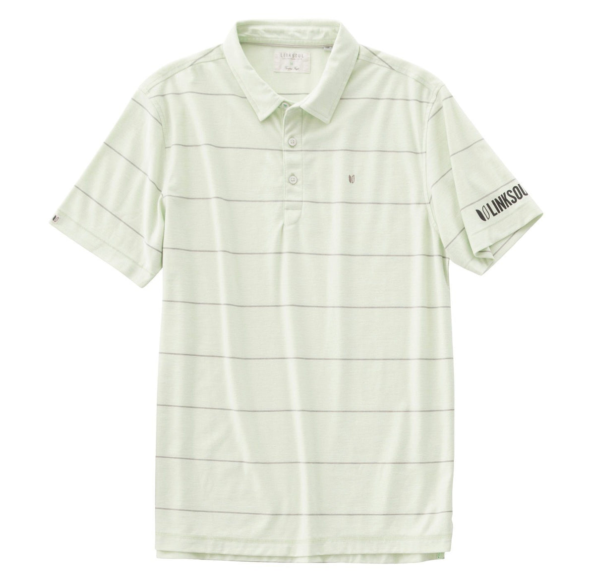 Tour Logo Micro Stripe Knit Polo