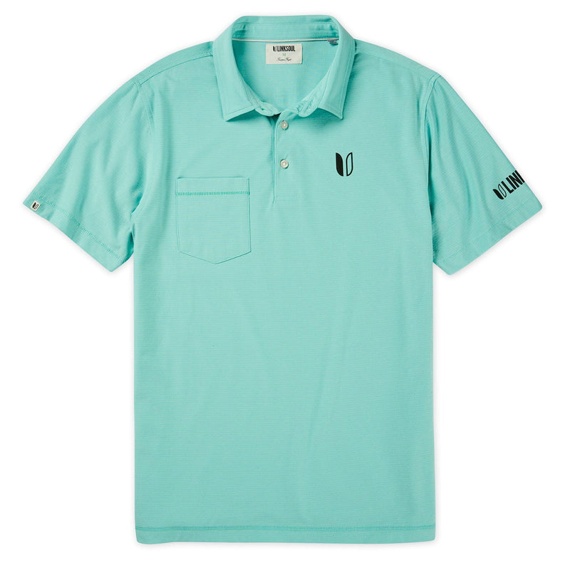 Tour Logo Martin Stripe Short Sleeve Polo image