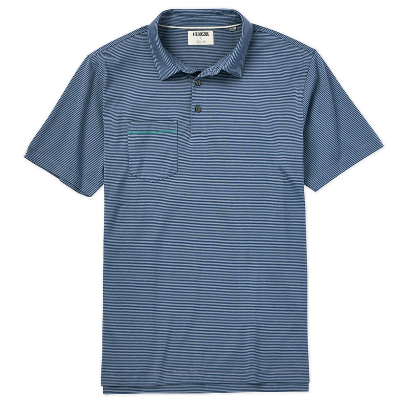 Martin Stripe Short Sleeve Polo image
