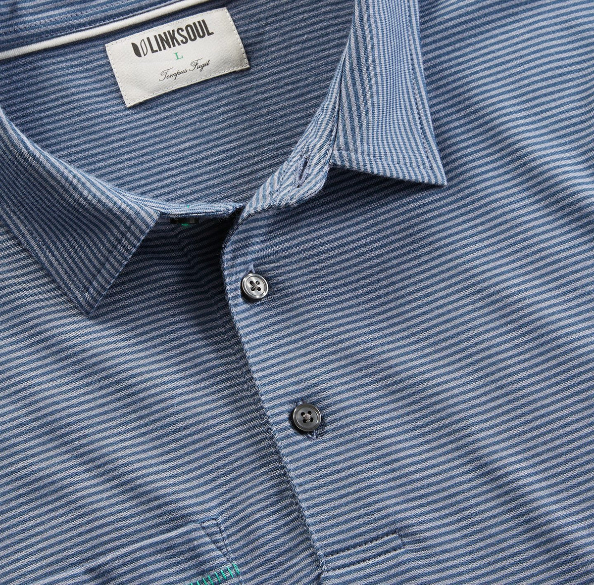 Martin Stripe Short Sleeve Polo