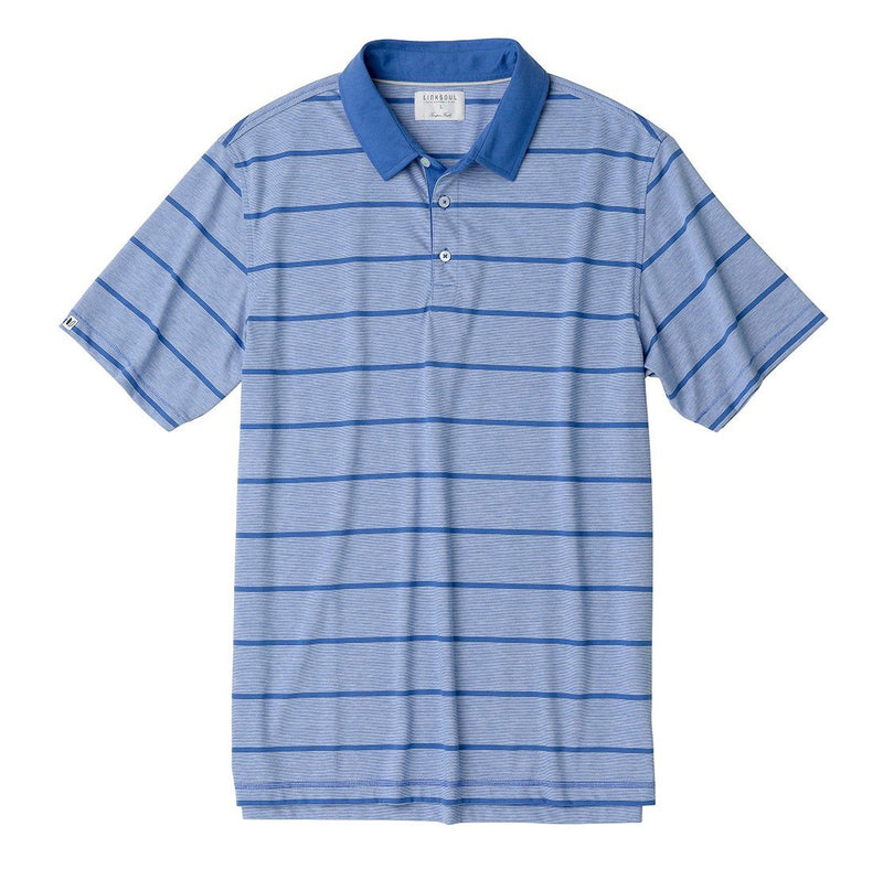 Yarn Dyed Stripe Knit Polo image