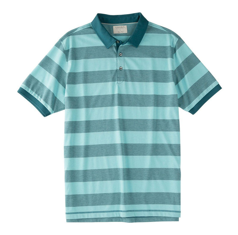 End-on-End Stripe Knit Polo image