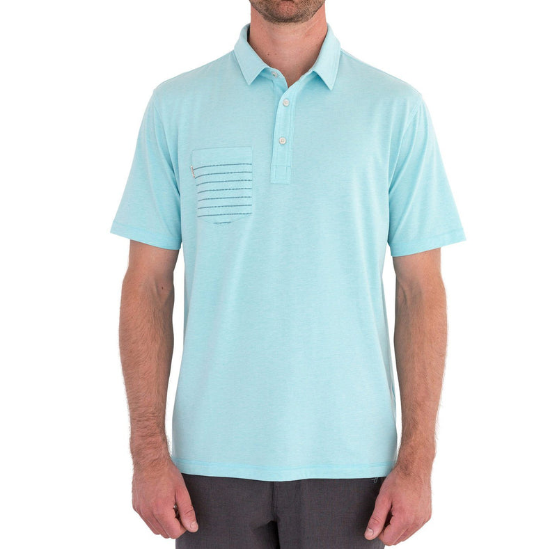 Novelty Performance Short Sleeve Stripe Polo image