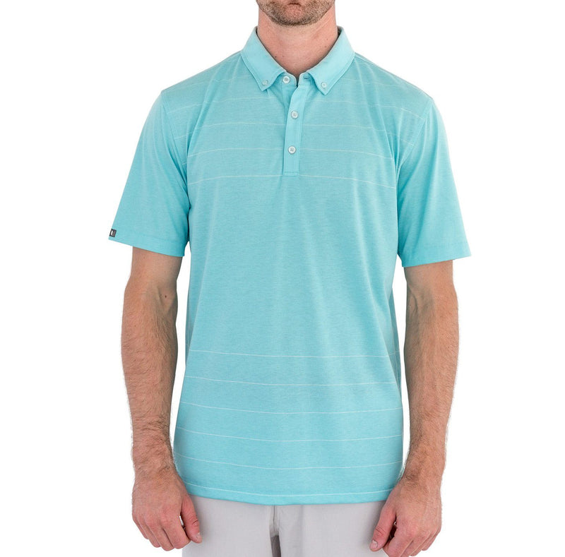 Novelty Cotton Short Sleeve Stripe Polo image