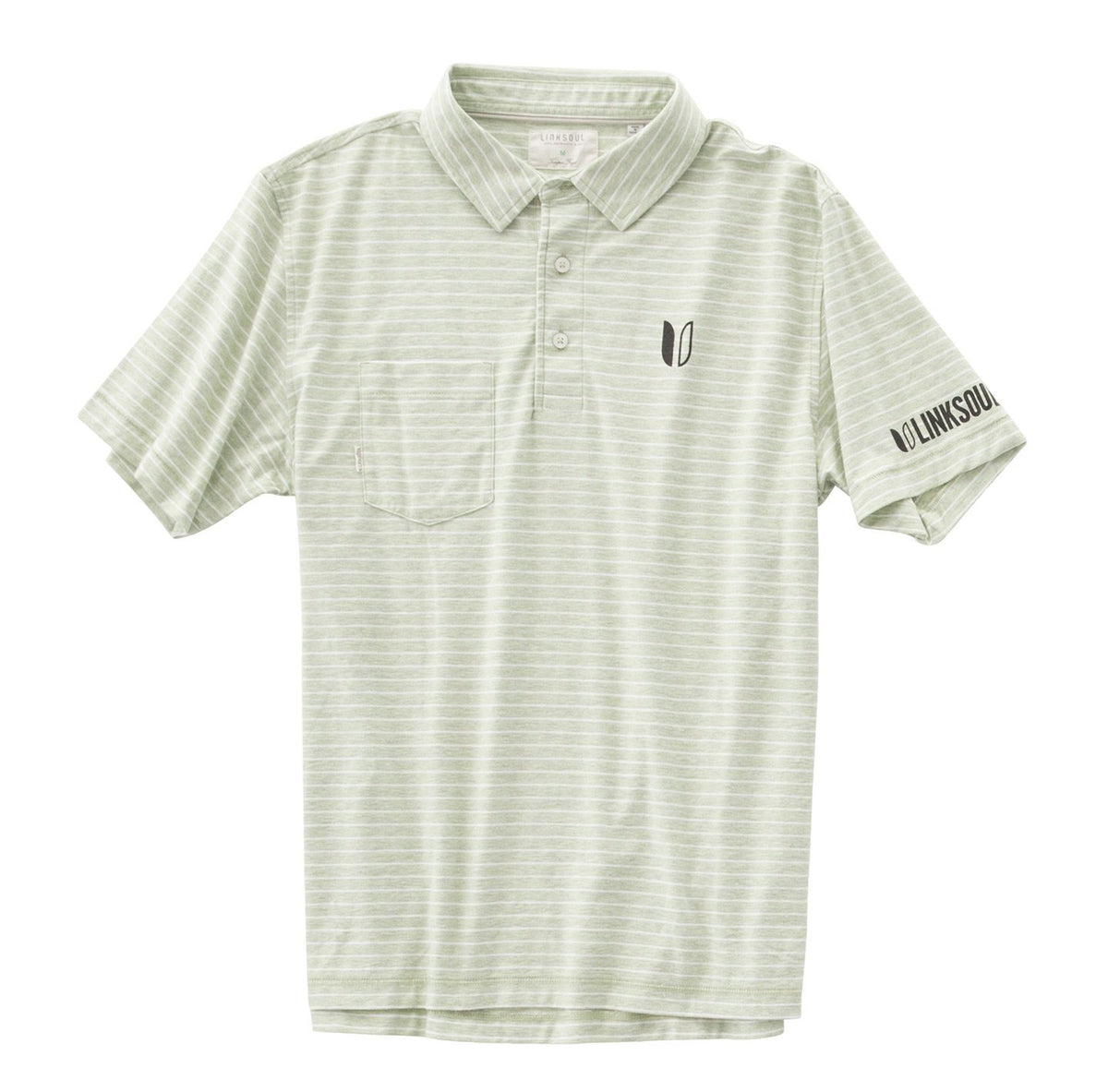 Tour Logo Heathered Yarn Dyed Stripe Short Sleeve Shirt