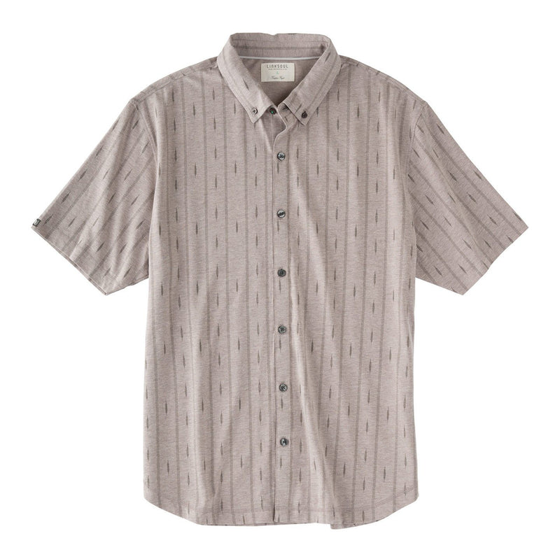 Full Button Printed Short Sleeve Shirt image