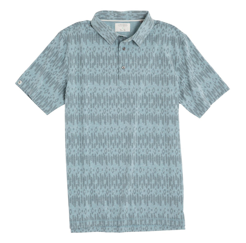 Subtle Printed Short Sleeve Knit Shirt image