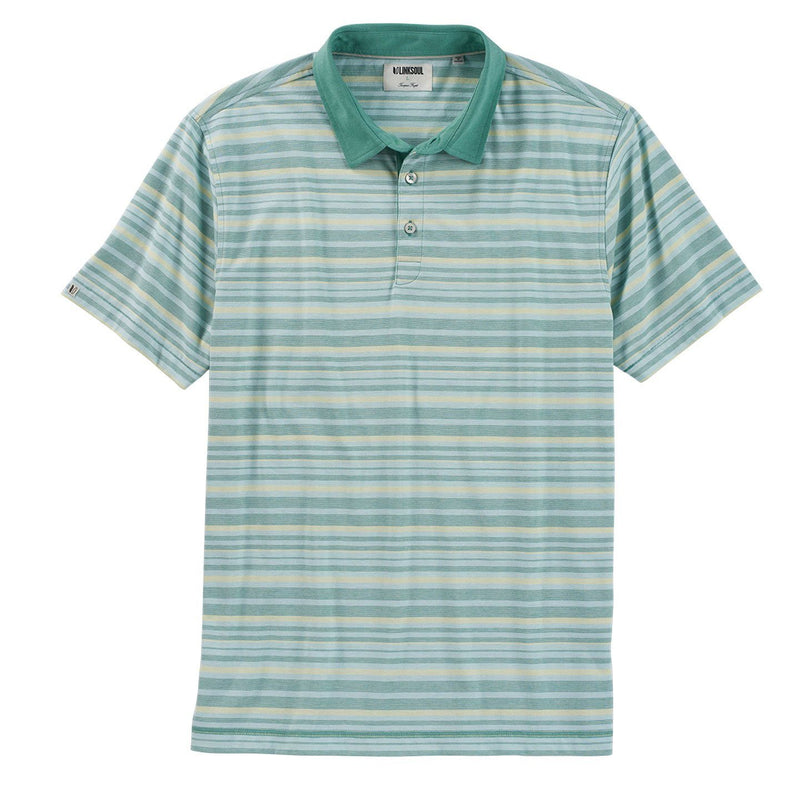 August Stripe Polo image