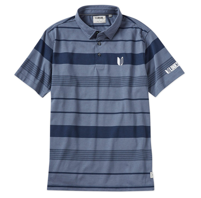 Tour Logo Kingston Stripe Short Sleeve Polo image
