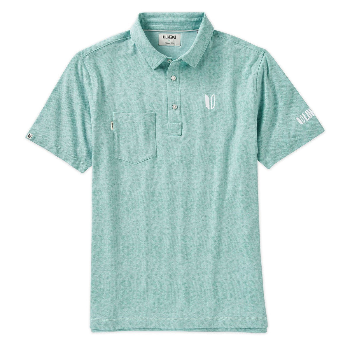 Tour Logo Field Print Polo