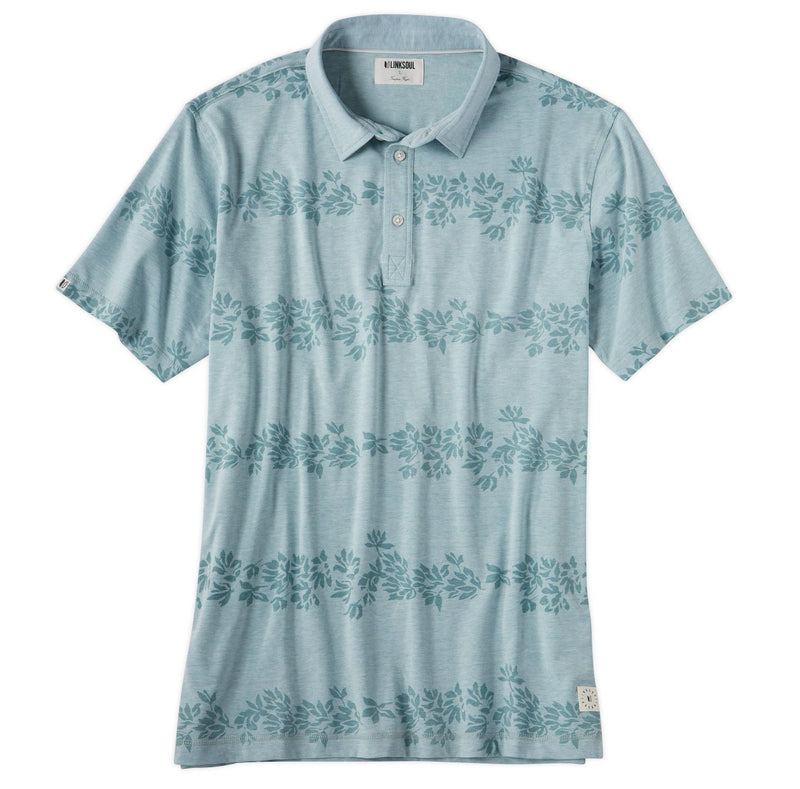 Floral Printed Polo image