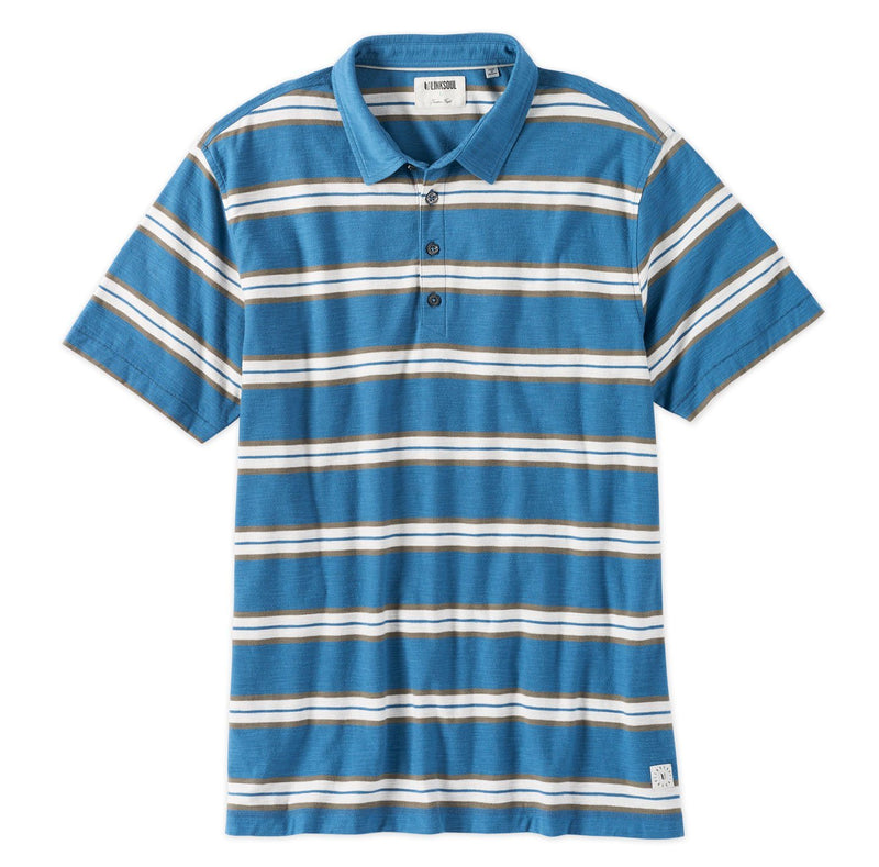 Charlestown Stripe Short Sleeve Polo image