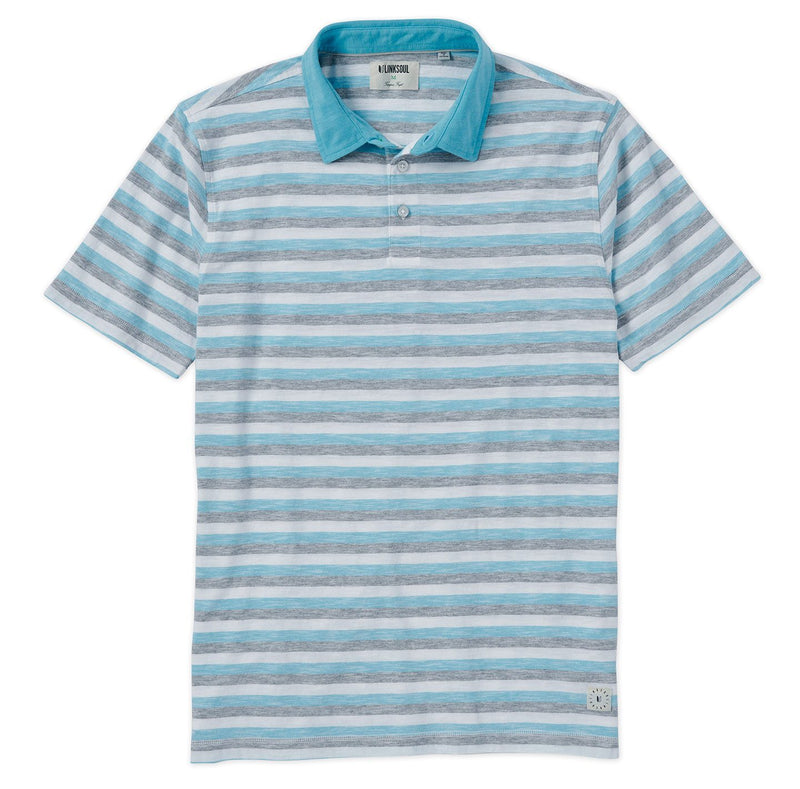 Sun Stripe Short Sleeve Polo image