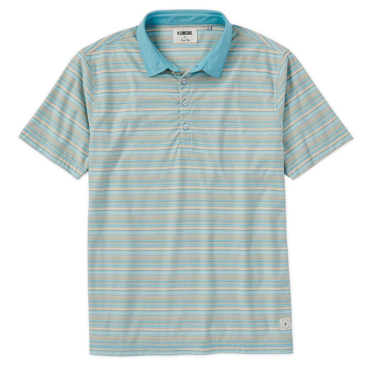 Nassau Stripe Short Sleeve Polo