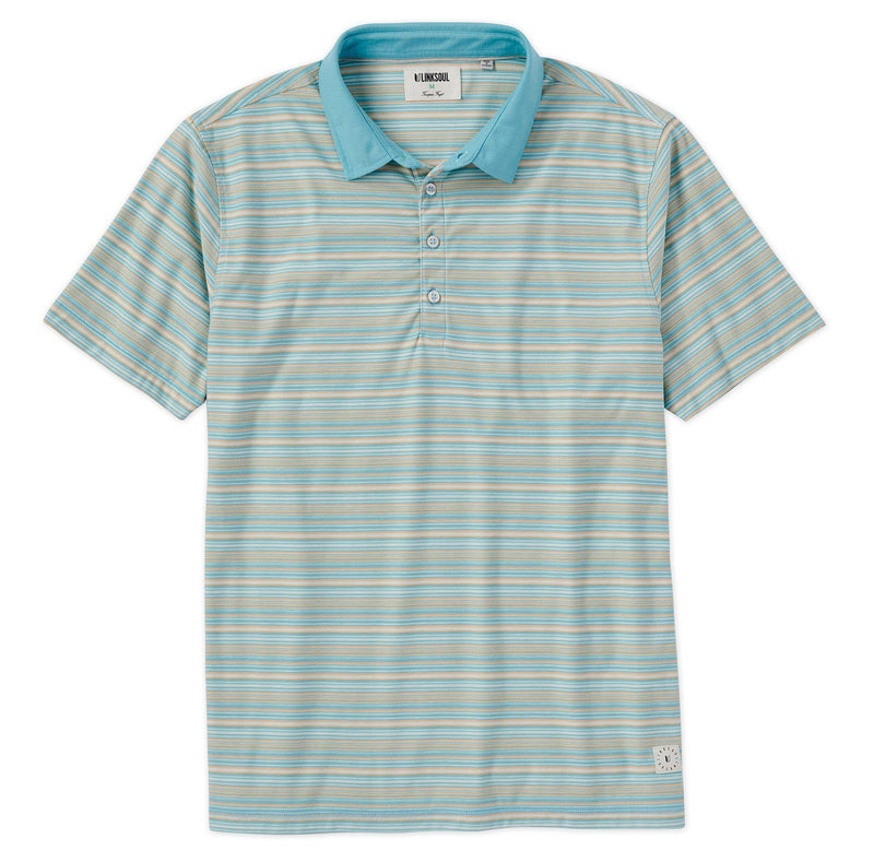 Nassau Stripe Short Sleeve Polo image