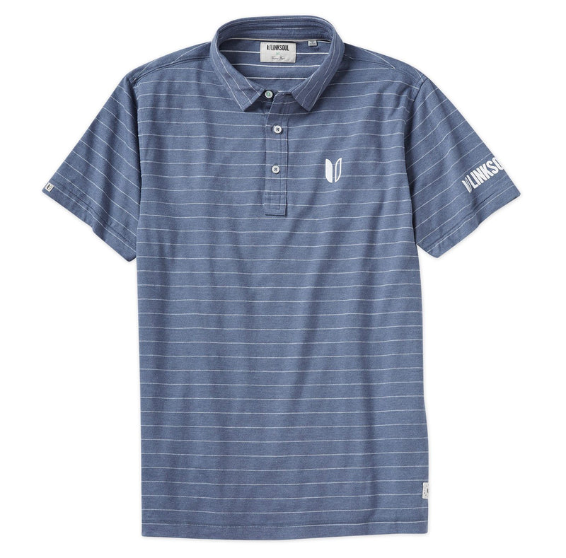 Tour Logo Stripe Jacquard Short Sleeve Polo image
