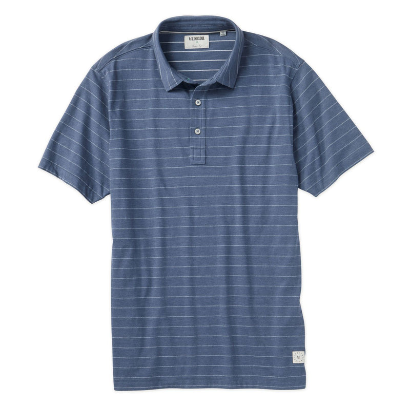 Stripe Jacquard Short Sleeve Polo image