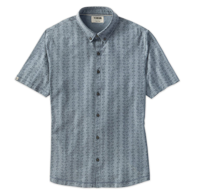 Anza Vine Print Button-Down Shirt image