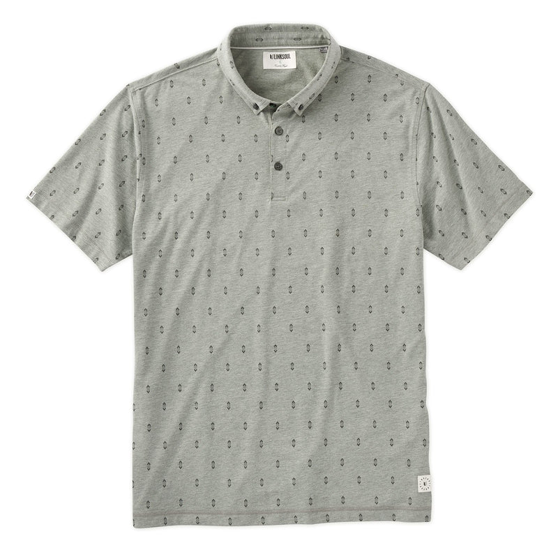 Diamond Print Short Sleeve Polo image