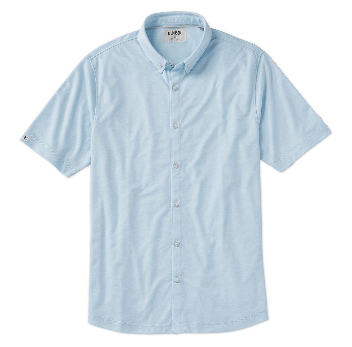 Hybrid Oxford Short-Sleeve Shirt