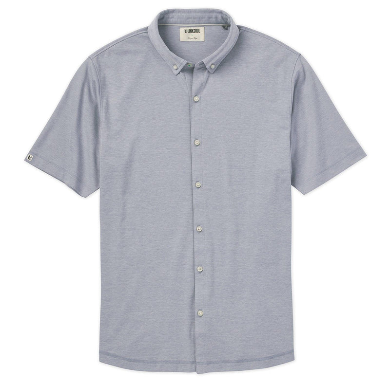 Hybrid Oxford Short-Sleeve Shirt image