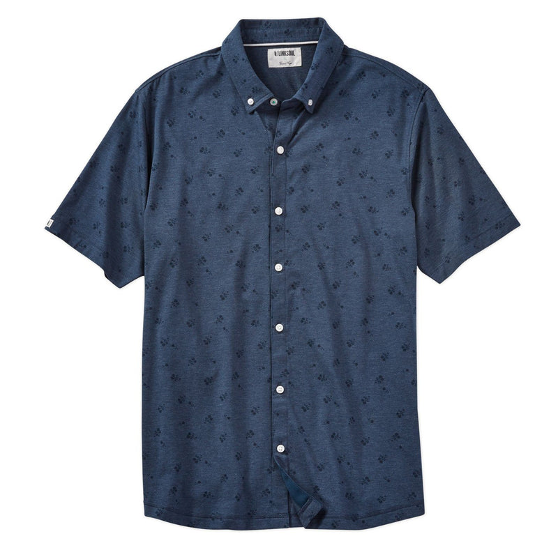 Anza Ink Print Short Sleeve Shirt image