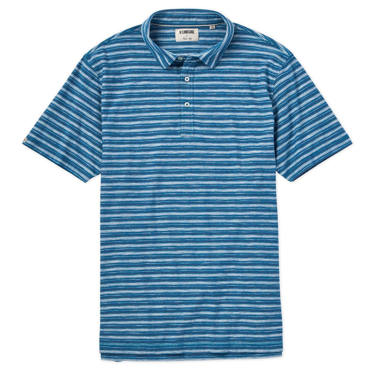 Yarn Dyed Stripe Polo