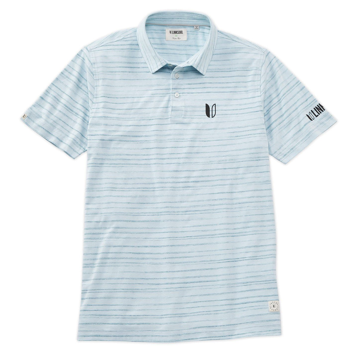 Tour Logo Horizon Stripe Polo