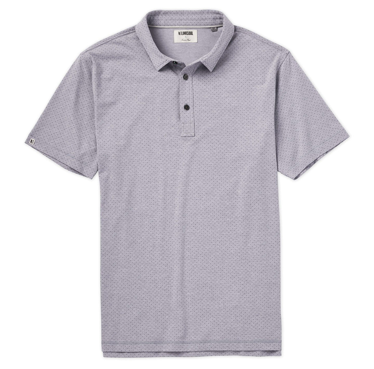 Anza Dot Print Polo Shirt