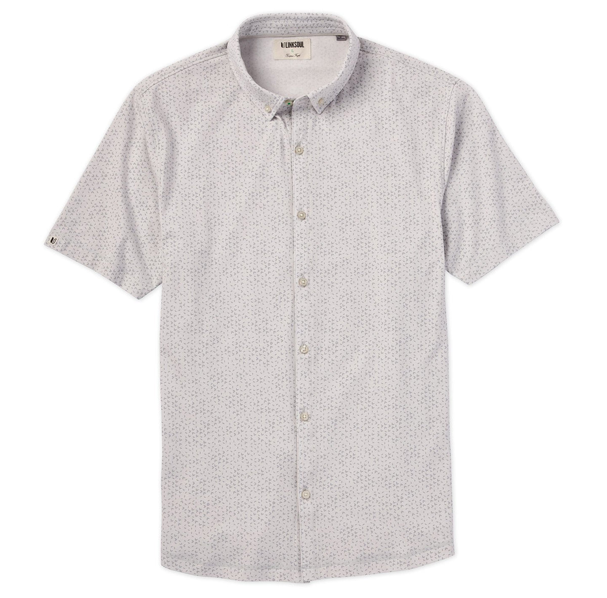 Anza Noise Print Short Sleeve Shirt