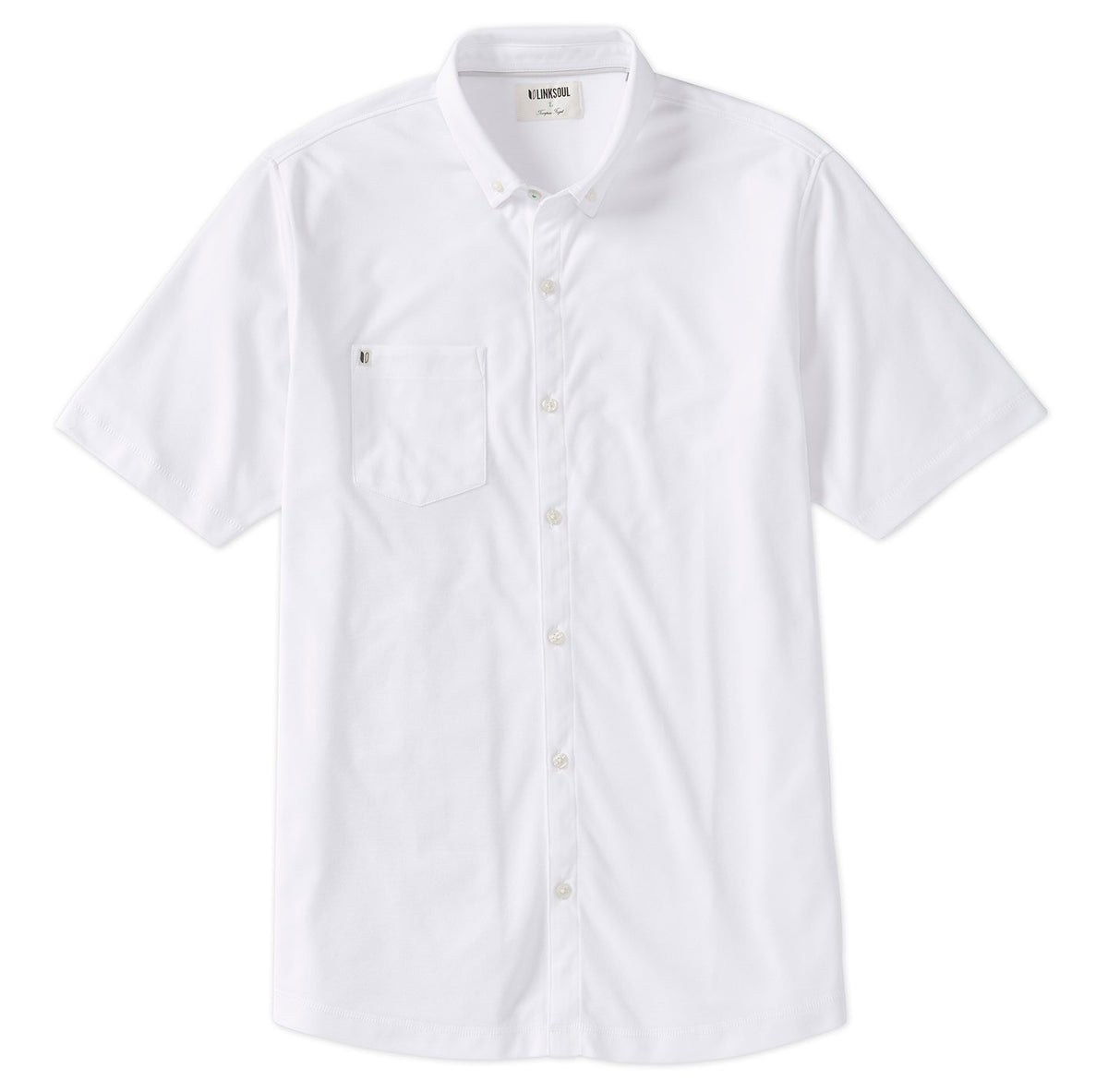 Oxford Full-Button Short Sleeve