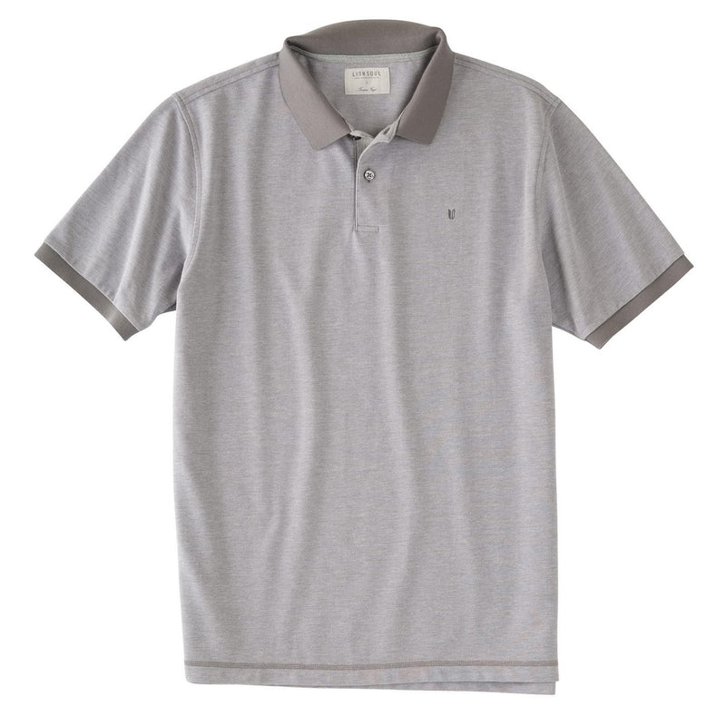 SHORT SLEEVE SOFT BIRDSEYE PIQUE KNIT SHIRT image