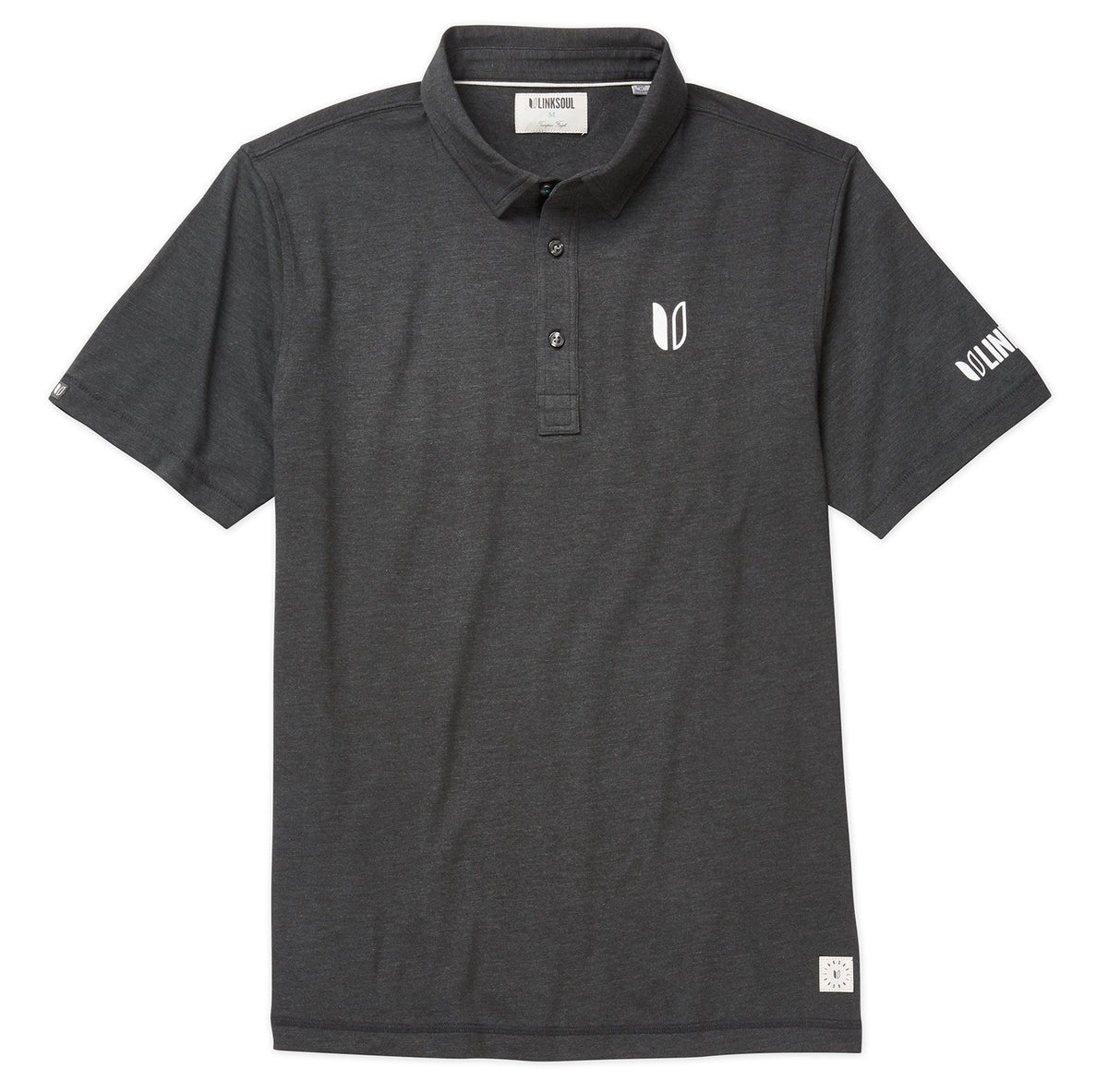 Tour Logo Anza Drytech Short Sleeve Knit Polo