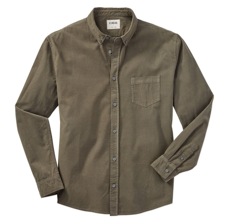 Pinwale Corduroy Long Sleeve Shirt image