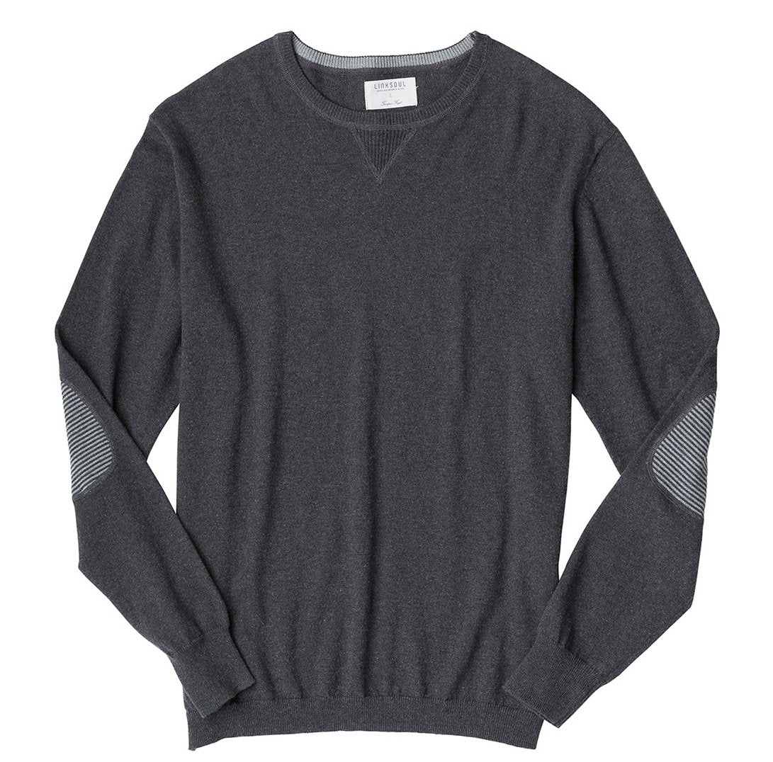 Cotton-Cashmere Crewneck